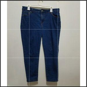 Denim - Petite size blue jeans 💣